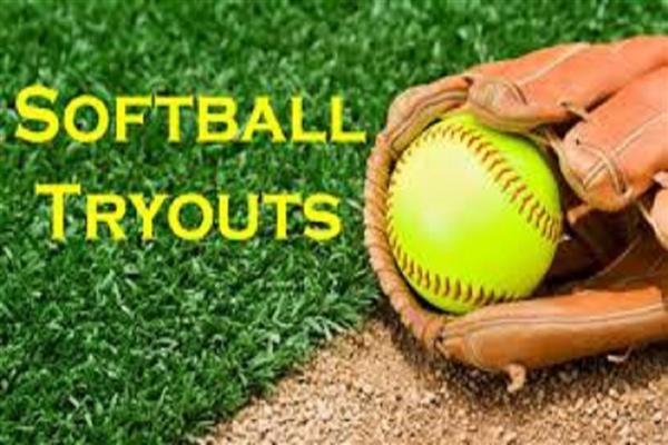 2019 FHS JV & Varsity Softball tryouts will be held November 12-14 from 4pm-6pm at the FHS softball