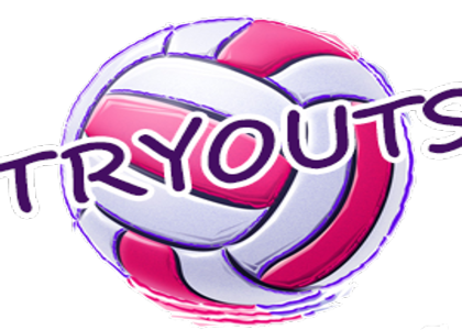 Volleyball Tryouts Information- May 19, 20, 21