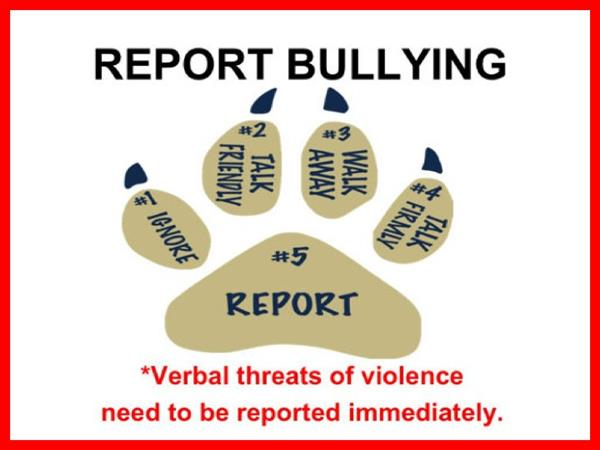 Report Bullying at Foley HS