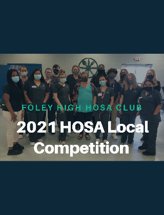 2021 HOSA Local Competition Winners