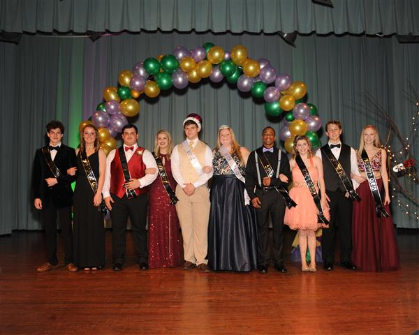 2018 Winter Ball Royalty Crowned