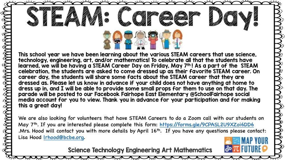 Learn more about STEAM Day