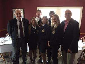FFA Meeting with Area Leaders