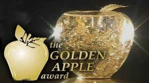 Mrs. Nittinger receives News 5 Golden Apple Award