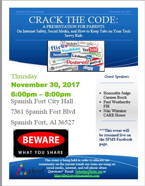 Crack The Code:  Presentation for Parents