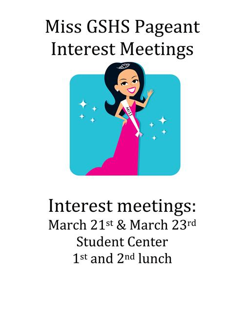 PAGEANT INTEREST